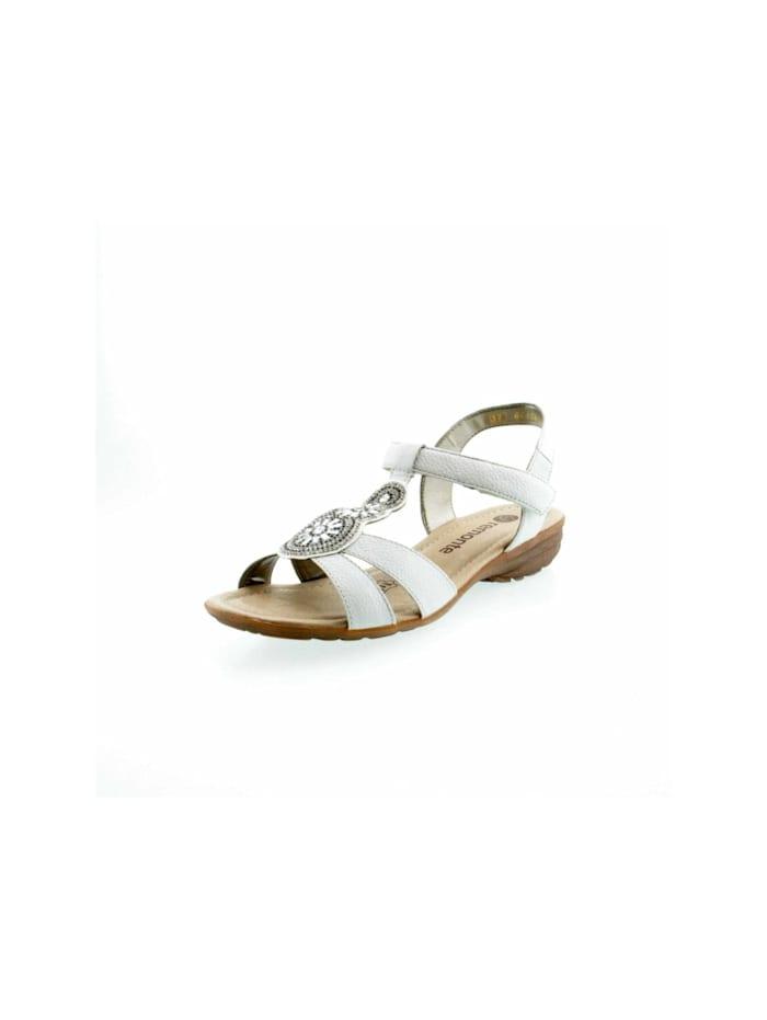 Remonte Damen Sandale in weiß, weiß