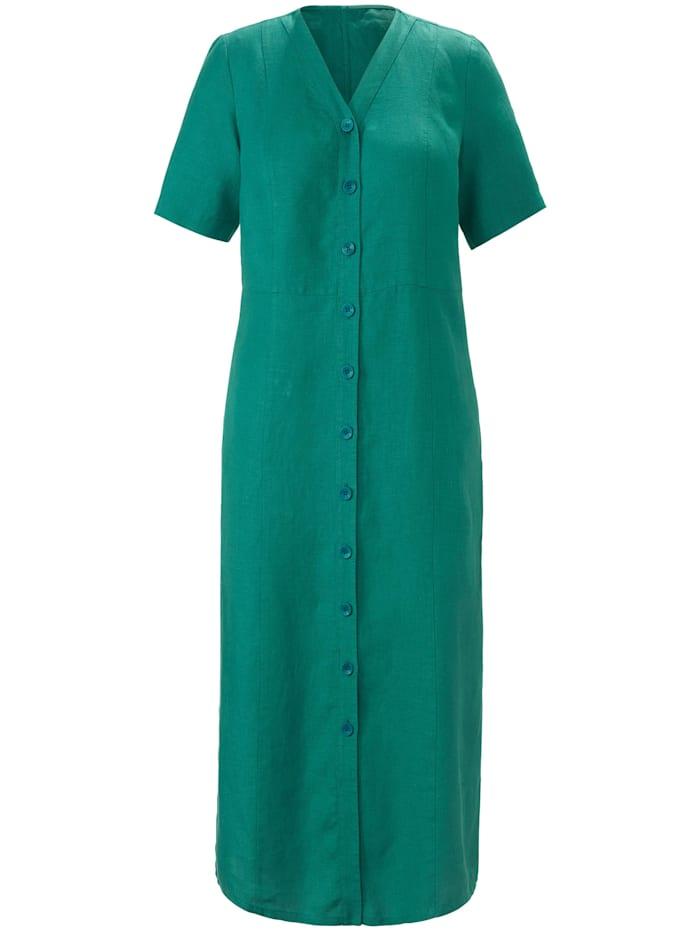 Anna Aura Abendkleid Kleid aus 100% Leinen, grün