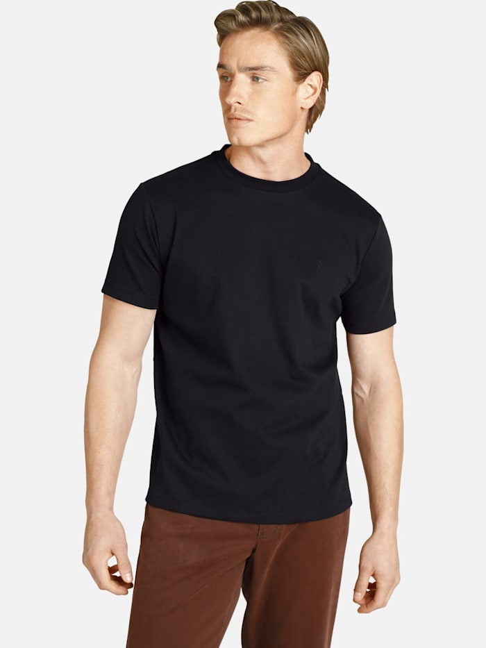 Charles Colby Charles Colby Doppelpack T-Shirt EARL MARVIN, schwarz
