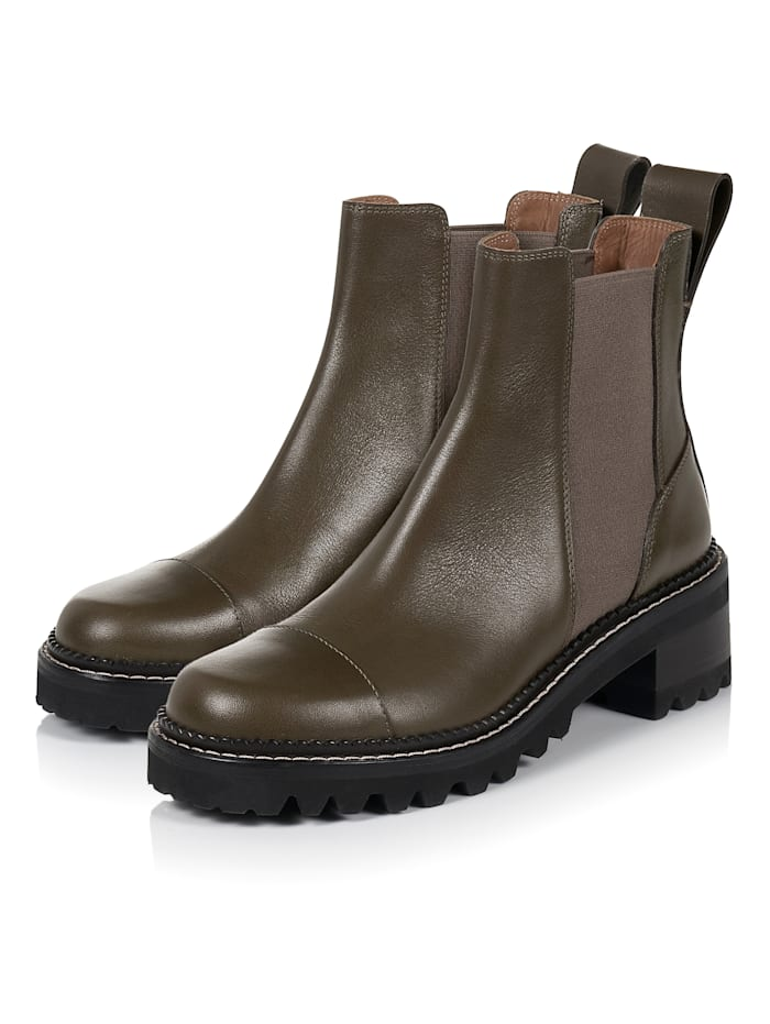 SEE BY CHLOÉ Chelsea-Boots, Khaki