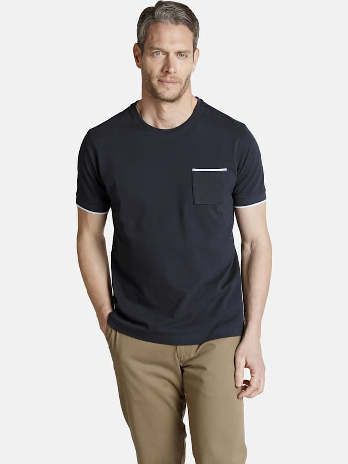 Charles Colby Charles Colby T-Shirt ERROL, dunkelblau
