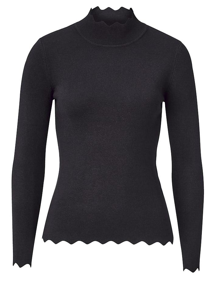 STEFFEN SCHRAUT Pullover, schwarz
