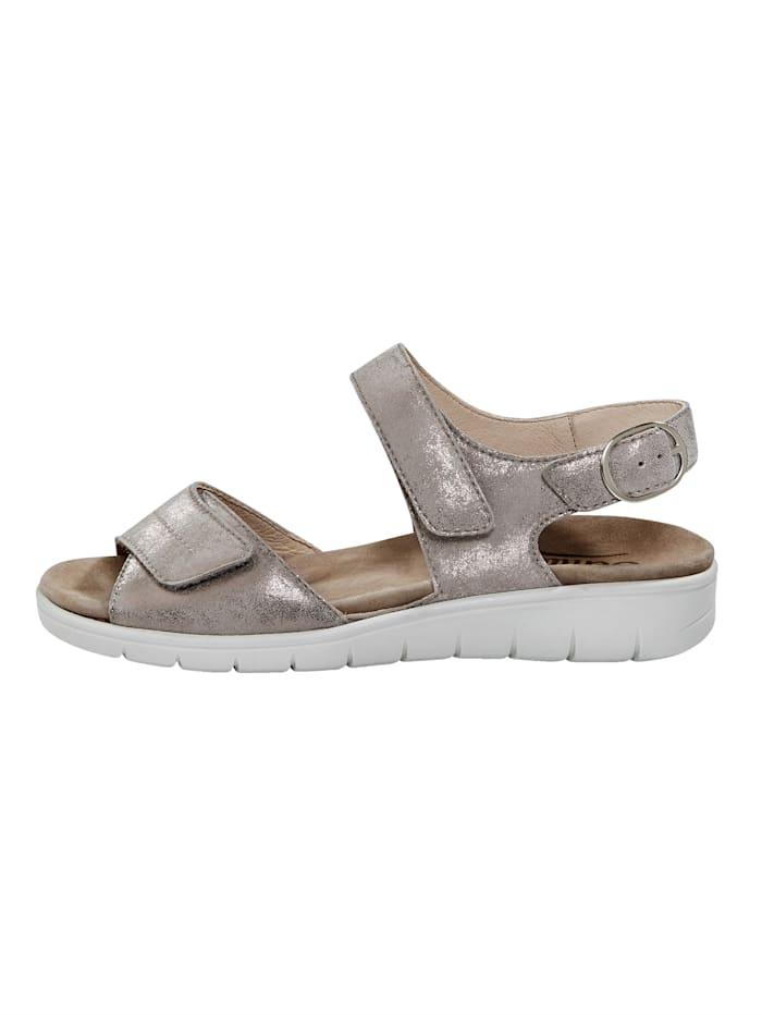 Sandaler med såle med luftpolster
