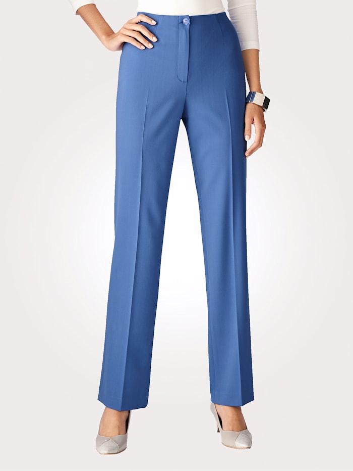 Artigiano Pantalon en matière bi-extensible, Bleu