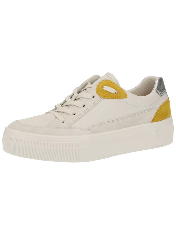 Legero Legero Sneaker, Weiß/Gelb