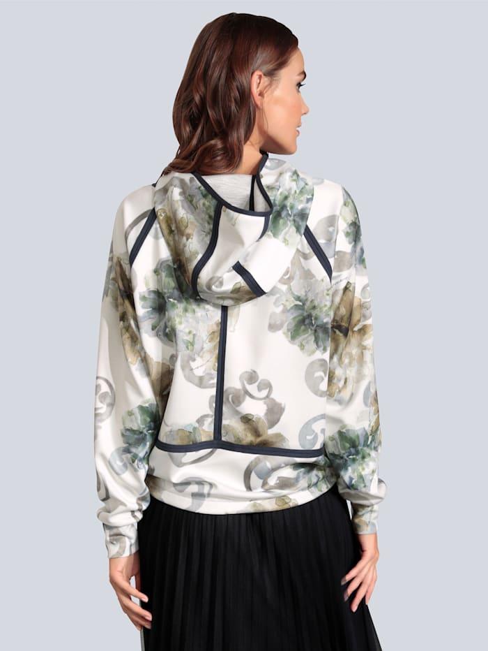 Sweatshirt mit Ziernähten