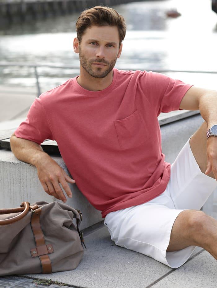 BABISTA T-Shirt mit Brusttasche, Rot