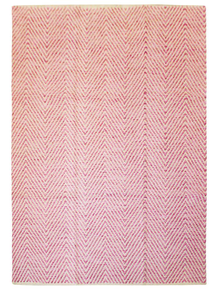 Kayoom Wollteppich Dirk, Pink