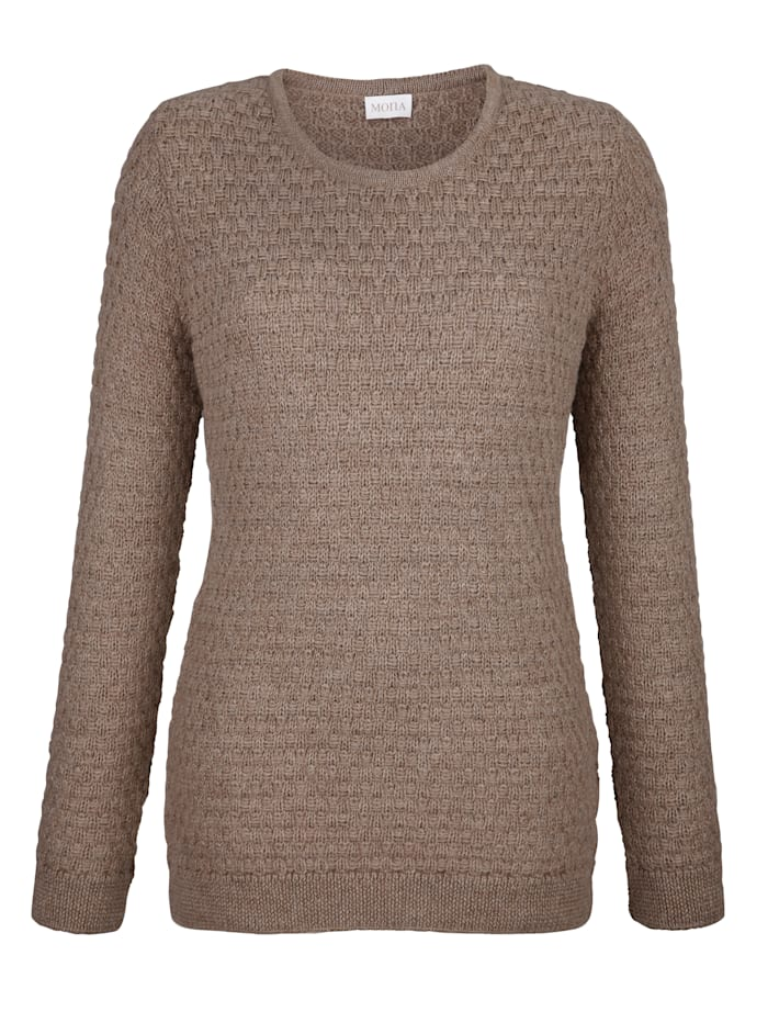Pullover aus Alpakawolle