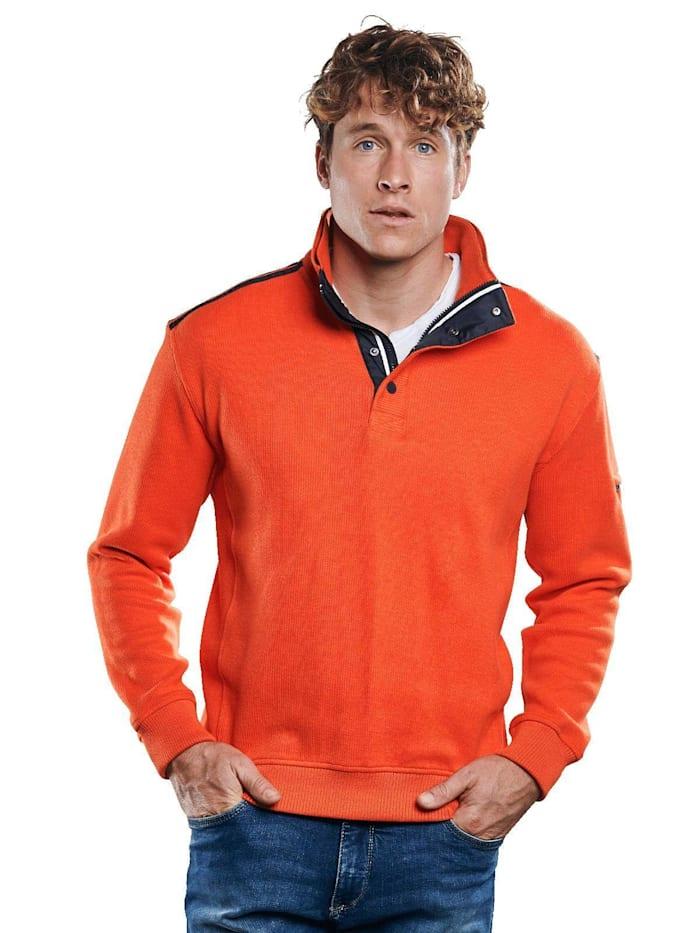 Engbers Auffälliges Sweatshirt, Signalorange