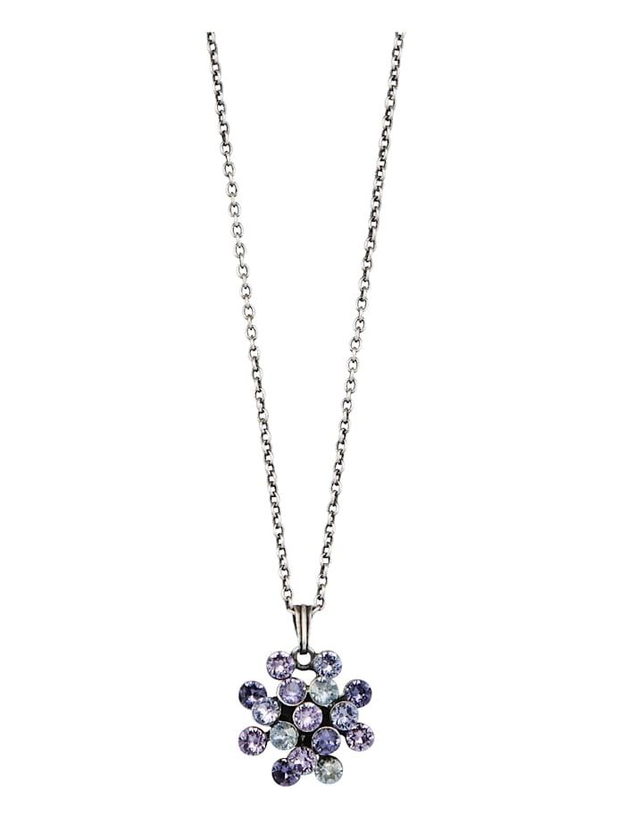 Konplott Collier mit Kristallen 5450543754734, Lila
