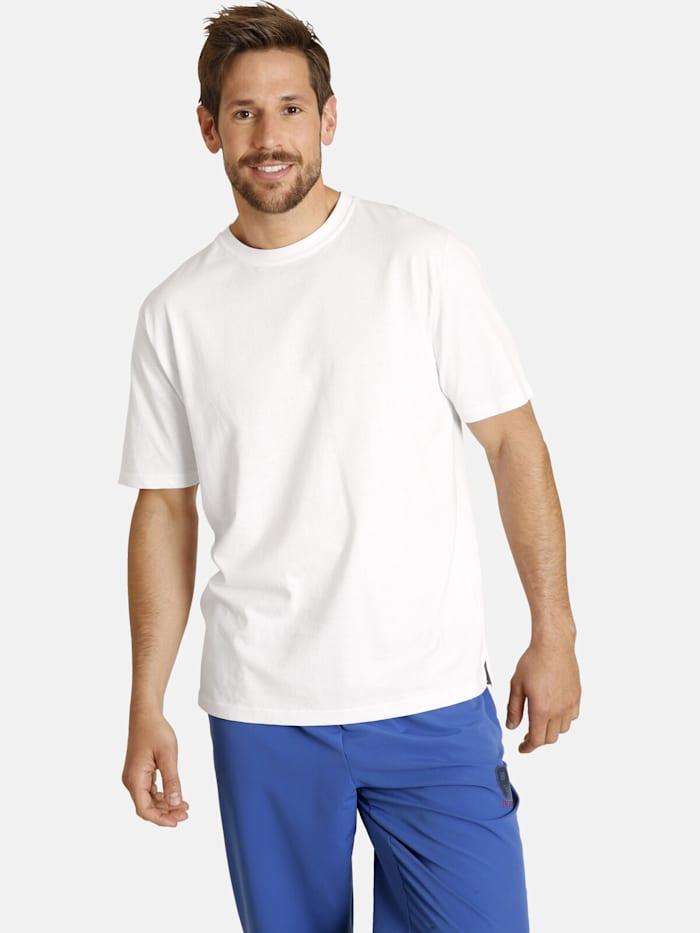 Jan Vanderstorm Jan Vanderstorm Doppelpack T-Shirt ERKE, weiß