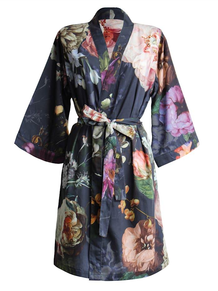 Essenza Essenza Kimono 'Fleur', Nachtblau