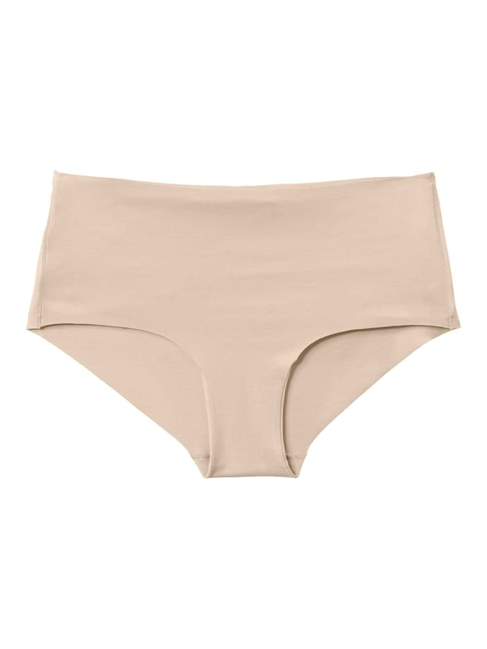 Calida Panty im Doppelpack, low cut, Compostable Ökotex zertifiziert, rose teint