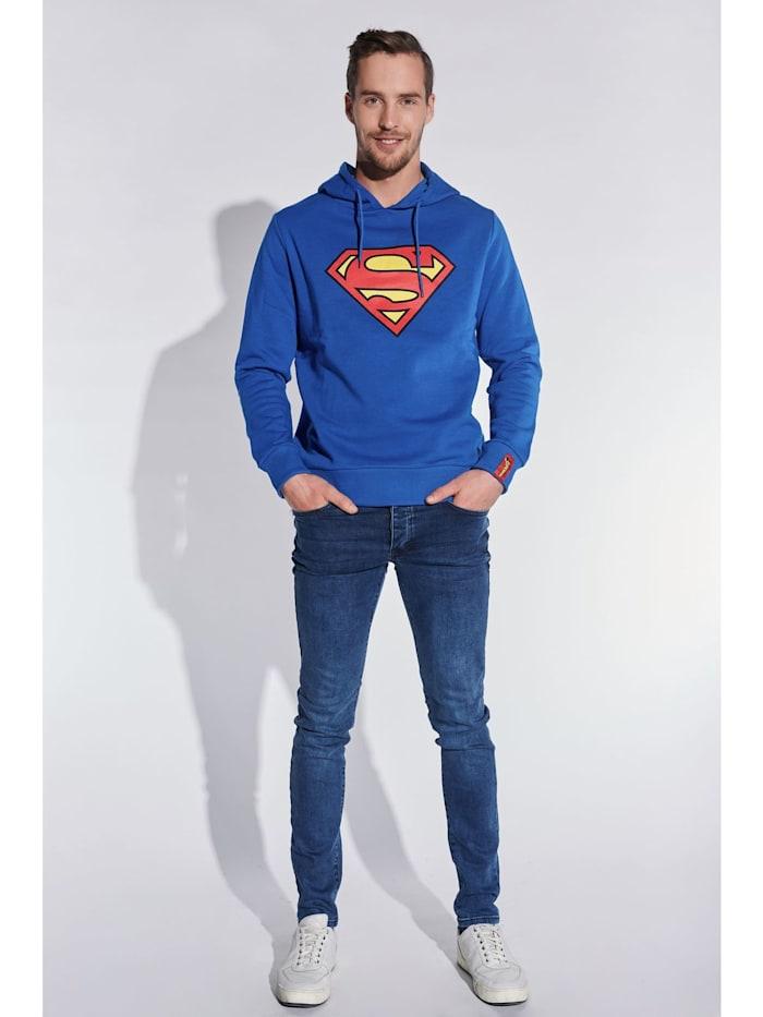 Herren Hoodie mit Superman Aufdruck
