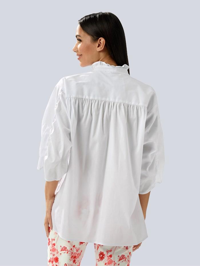 Bluse aus Formstabiler Ware
