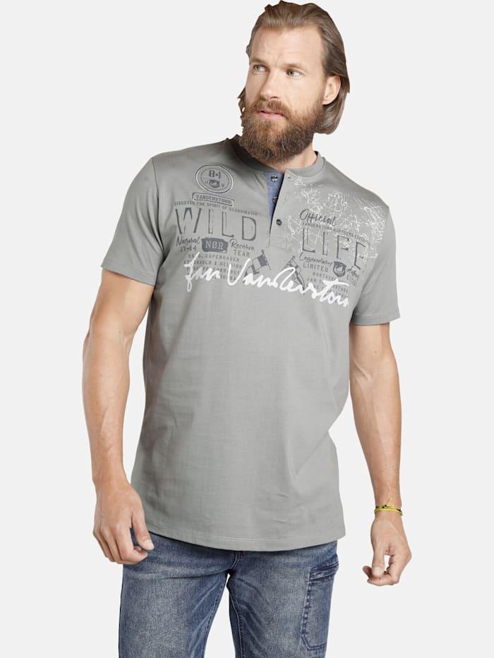 Jan Vanderstorm T-Shirt REIDAR, grau
