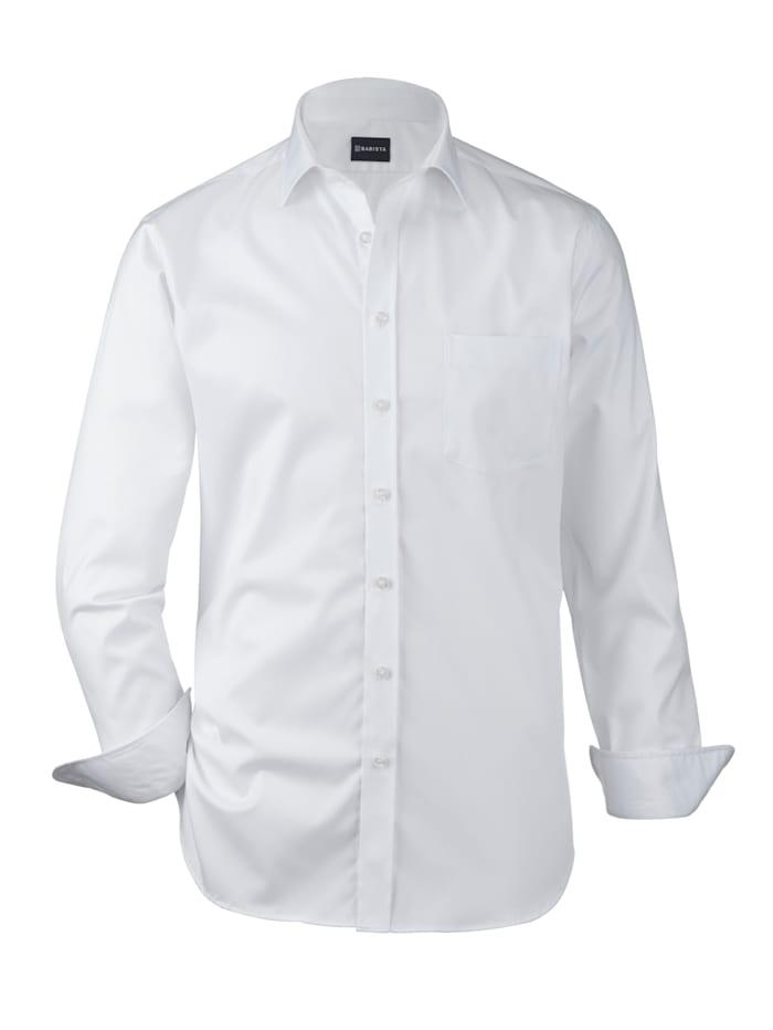 Babista Premium Chemise dans une qualité haut de gamme, Blanc