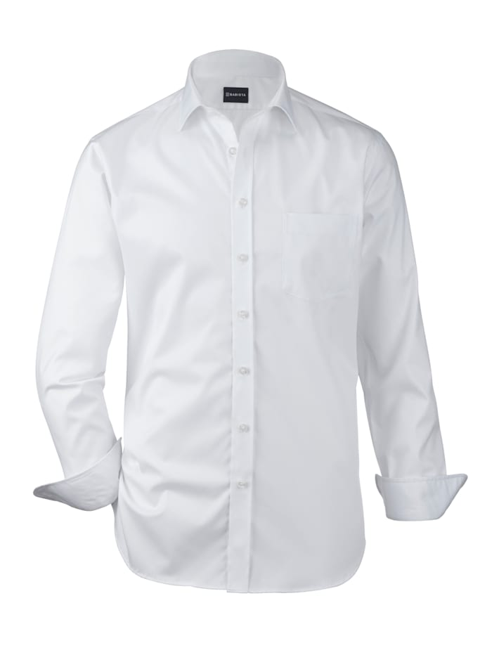 Babista Premium Skjorta i premiumkvalitet, Vit