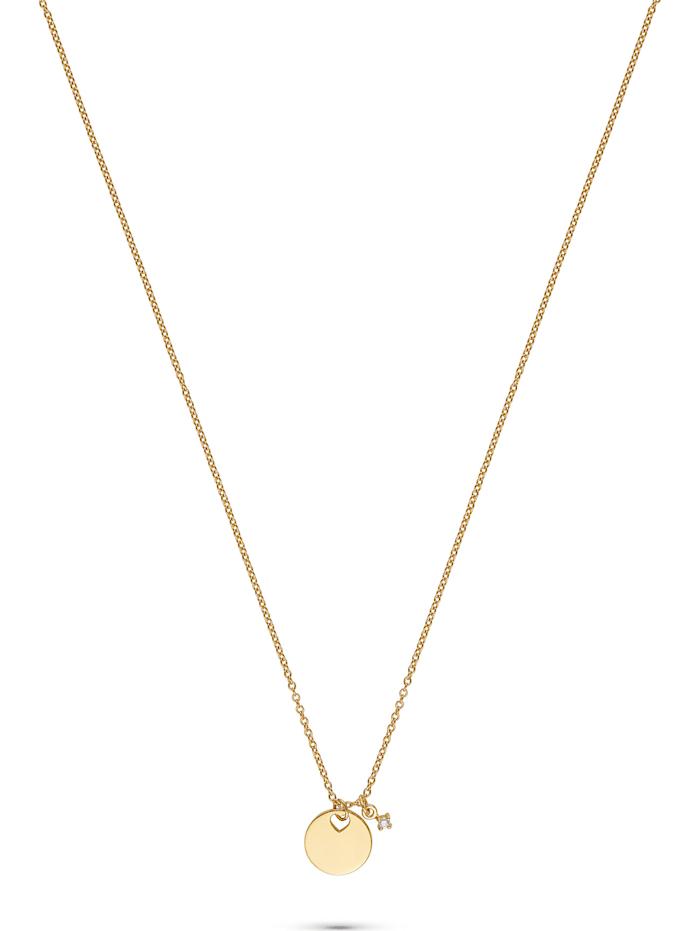 Guido Maria Kretschmer Guido Maria Kretschmer Damen-Kette 1 Diamant, gelbgold