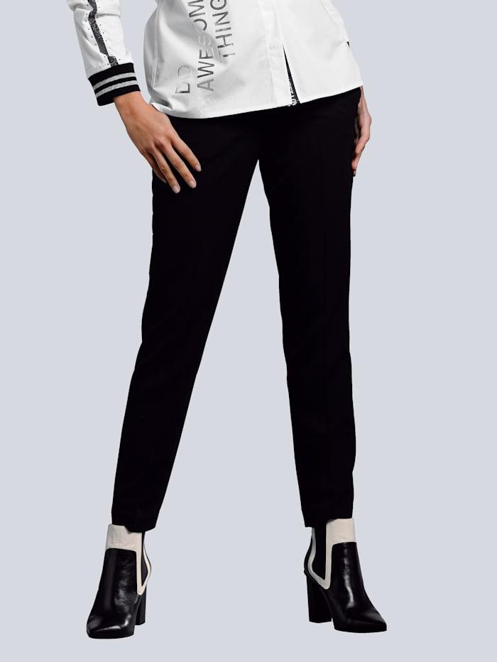Alba Moda Broek in jogpantstijl, Zwart