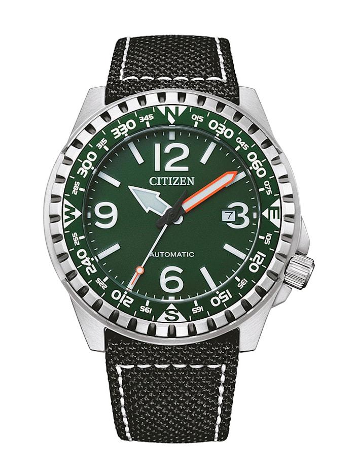 Citizen Herrenuhr NJ2198-16X, Schwarz