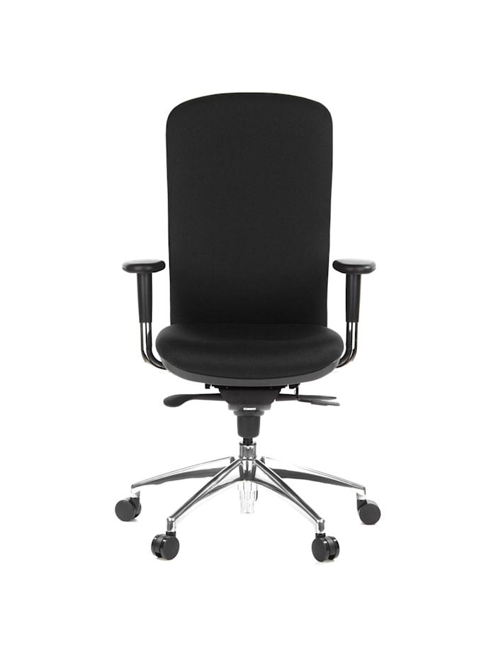 hjh OFFICE High End Bürostuhl HIGH-TEC, Schwarz