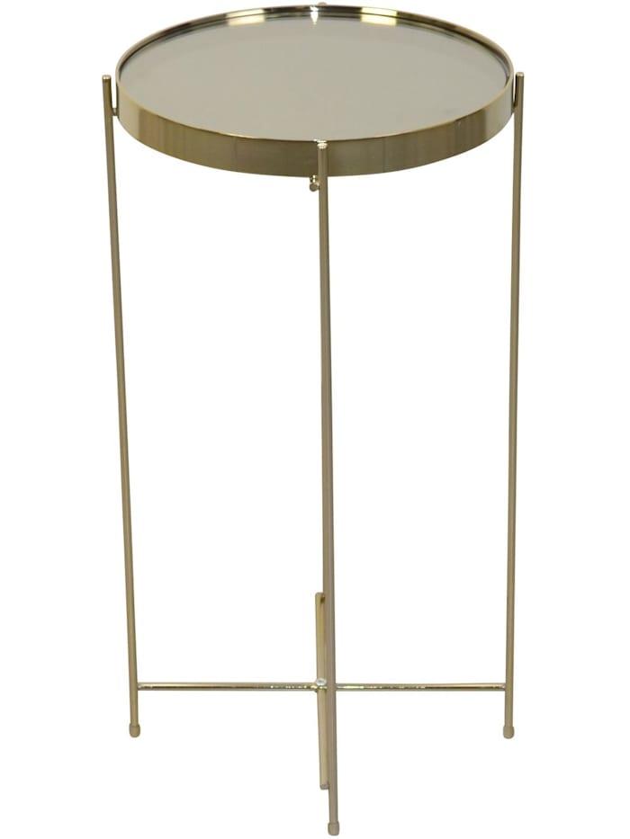 Möbel-Direkt-Online Beistelltisch Simi, gold