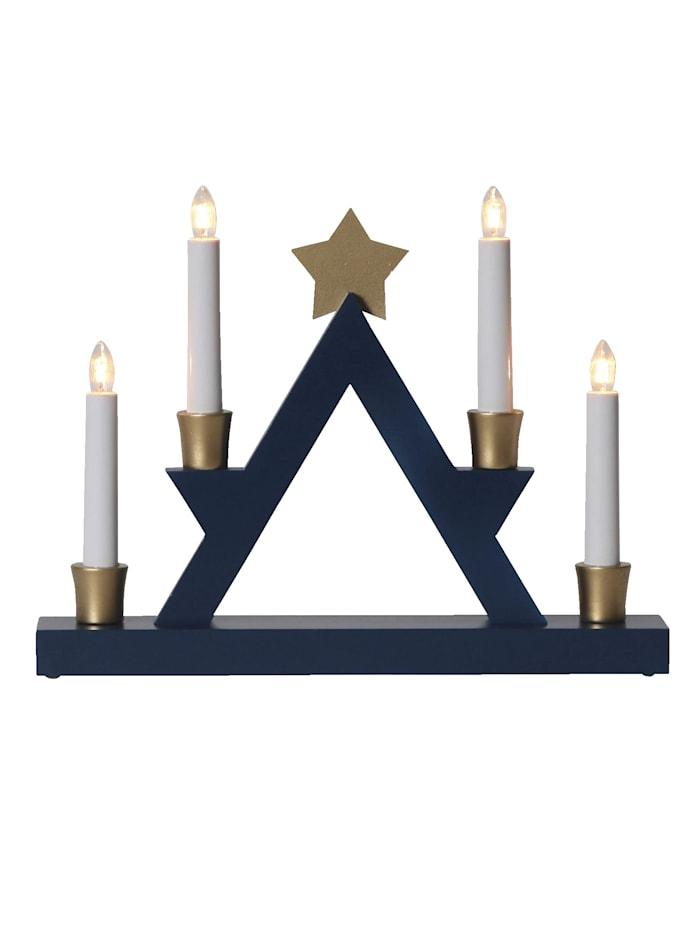 Star Trading Kerzenhalter Julle, Blau
