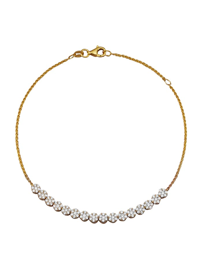 Diemer Diamant Armband met briljanten, Wit