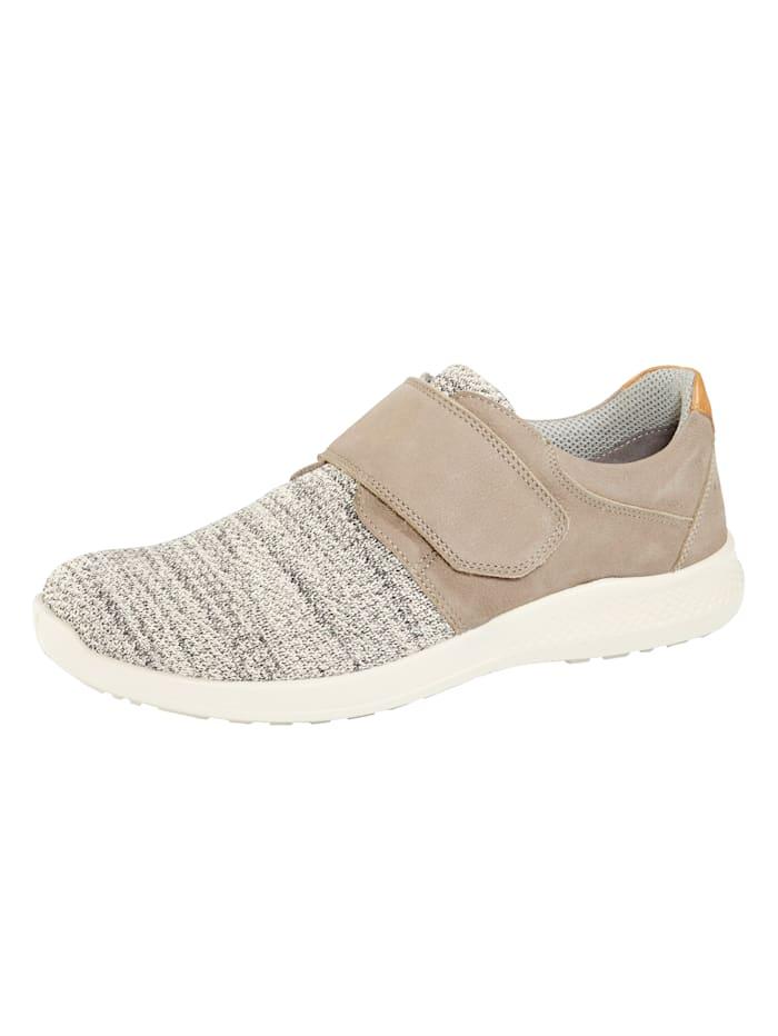 Naturläufer Slipper obuv zo super strečového textilu, Béžová