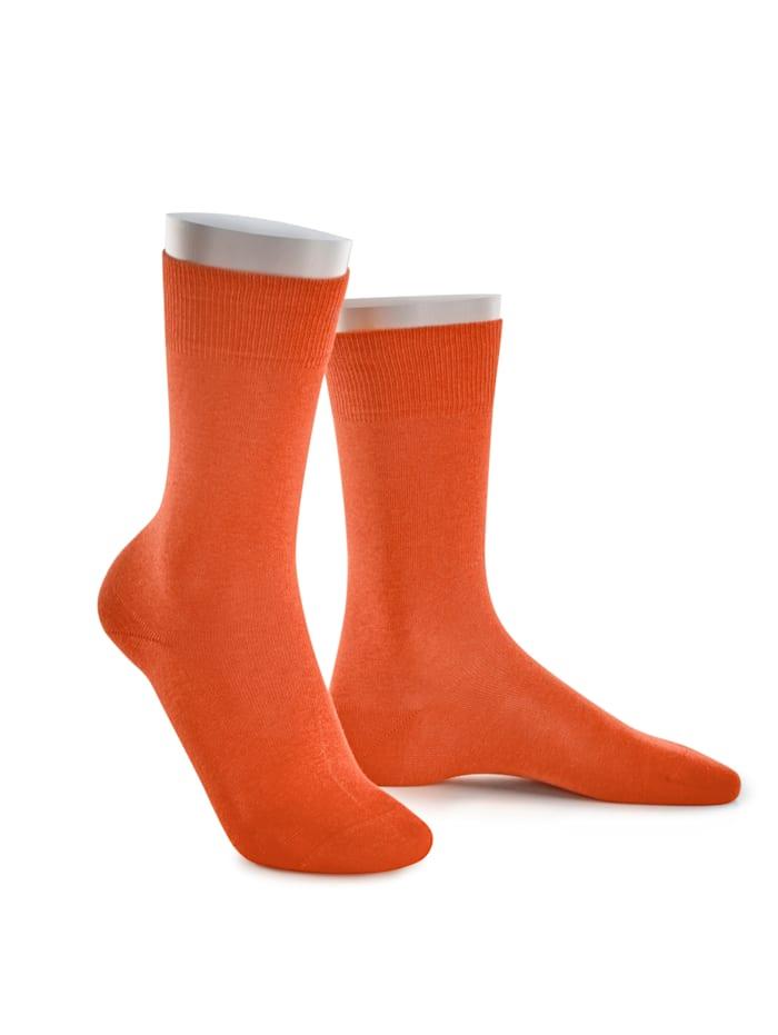 BABISTA Chaussettes tendance dans des coloris rafraîchissants, Orange