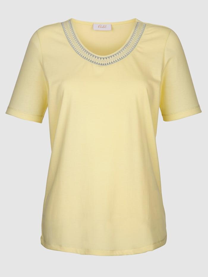 Shirt mit Glanznähten