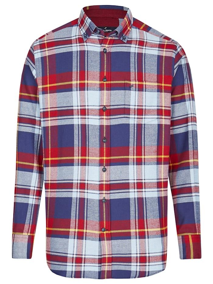 Daniel Hechter Flanell-Hemd in extraweicher Qualität, dark red