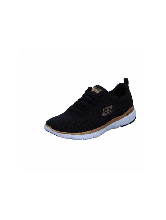 Skechers Schnürschuh, schwarz
