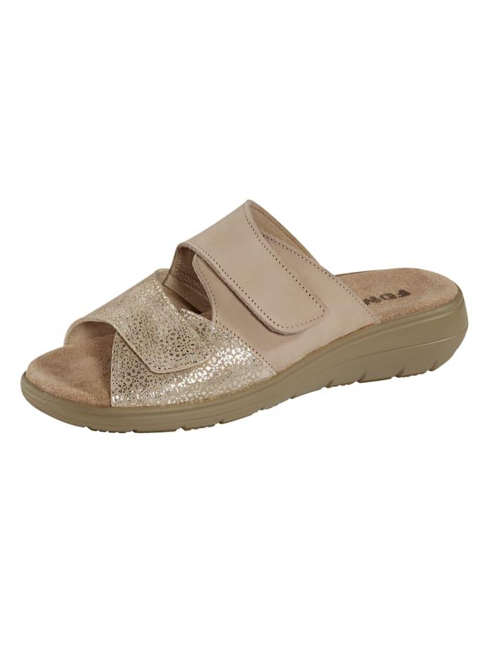 FONDA Nazouvací obuv, Béžová
