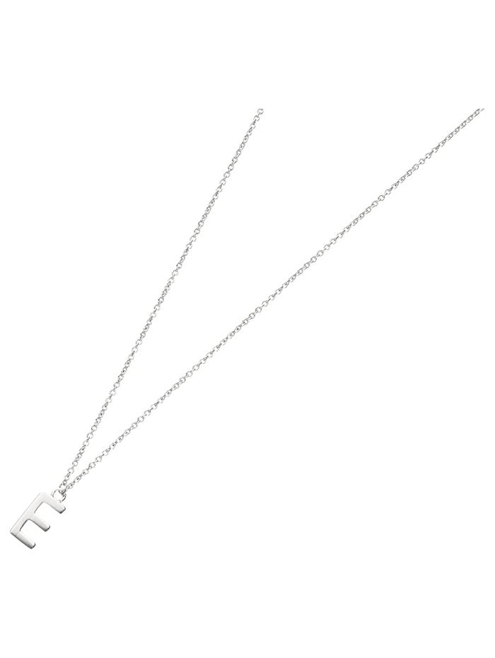 Smart Jewel Collier Buchstabe E, Silber 925, Silber