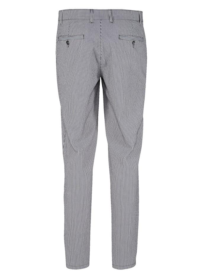 Pantalon en seersucker estival