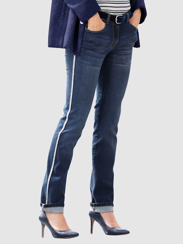 Dress In Jeans in Laura Slim model, Marine