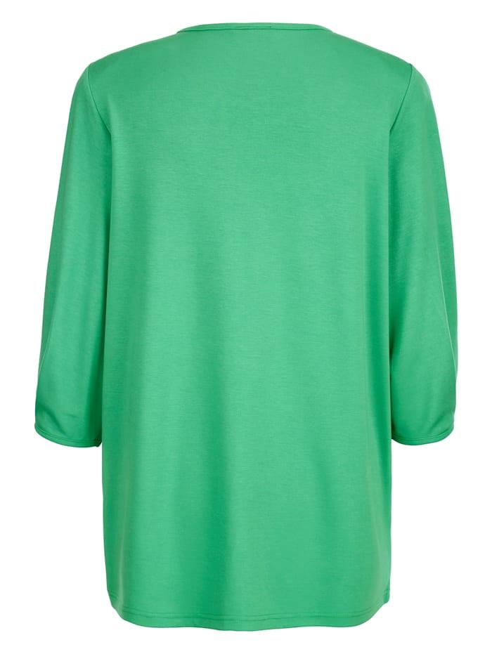 Shirt aus formstabilem Jersey