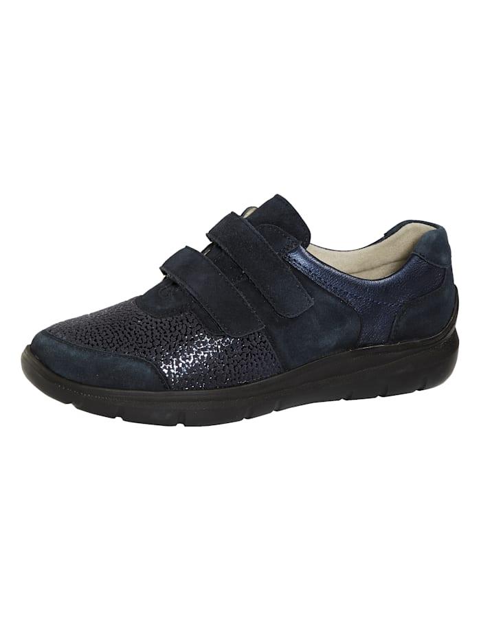 Waldläufer Slipper obuv s vybavením Ortho Tritt, Tmavá modrá
