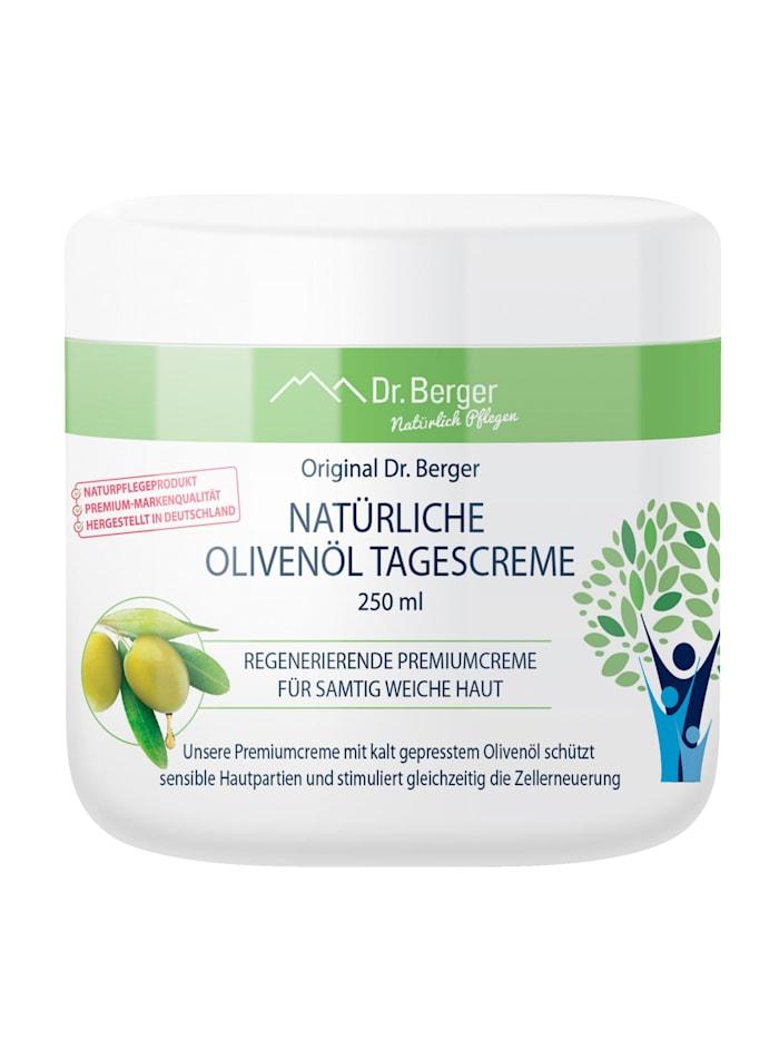 Dr.Berger Crème de jour à l'huile d'olive naturelle pour une peau douce et soyeuse, Neutre