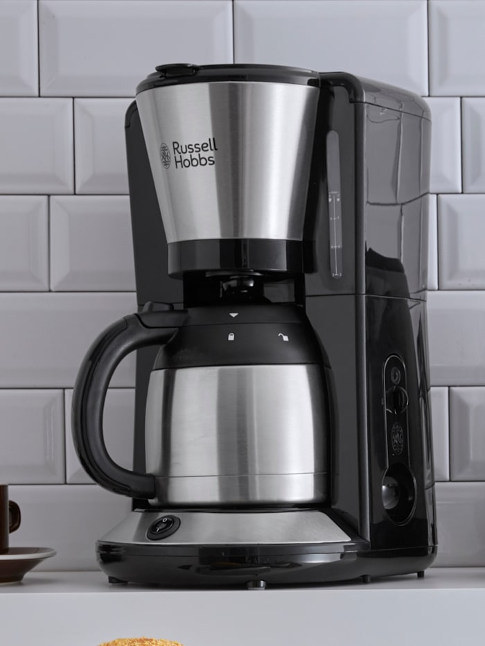 Russell Hobbs RUSSELL HOBBS Adventure koffiezetapparaat met thermoskan, Zilverkleur/Zwart