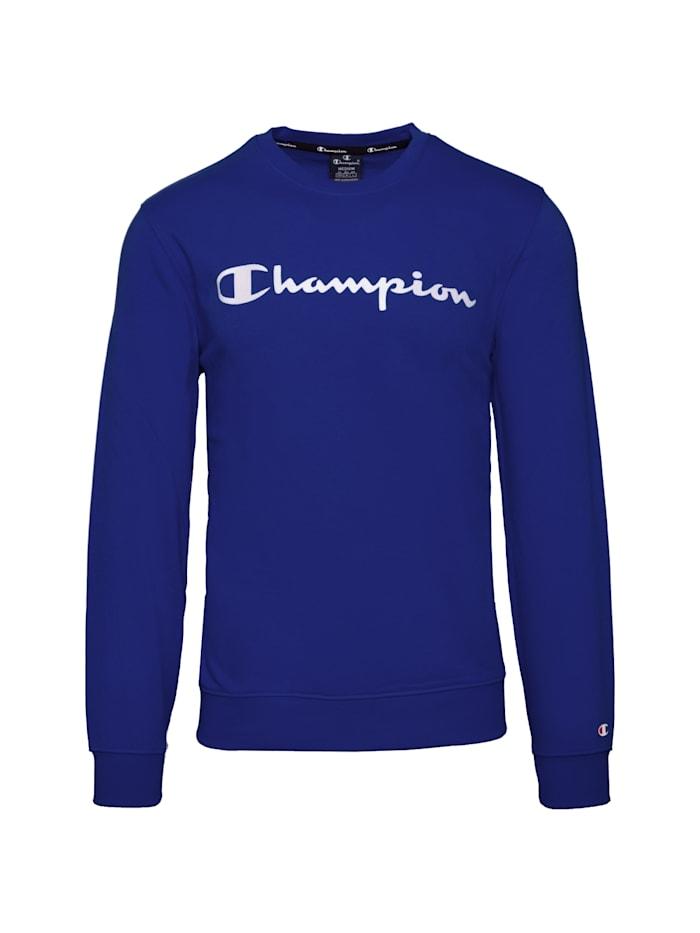 Champion Sweatshirt Crewneck, blau