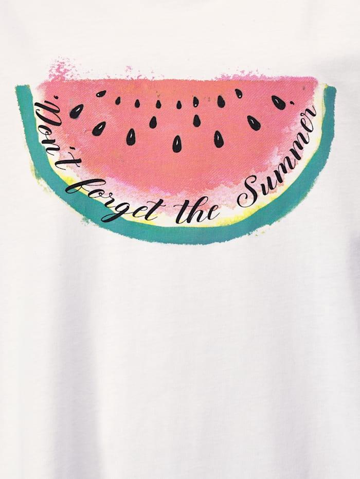 Shirt mit Melonen-Print
