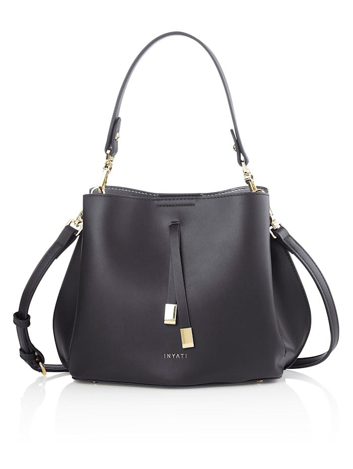 INYATI Handtasche, schwarz