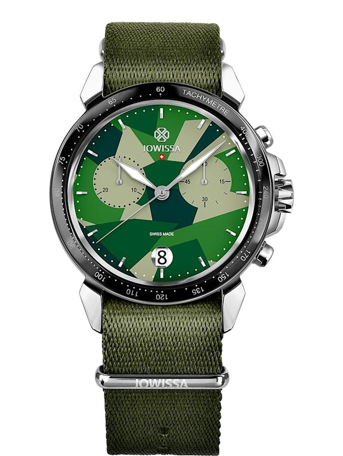 Jowissa Quarzuhr LeWy 15 Swiss Men's Watch, grün