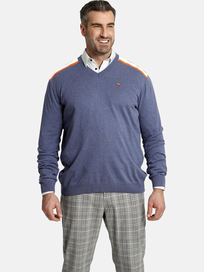 Charles Colby Charles Colby Pullover EARL PERRYN, blau