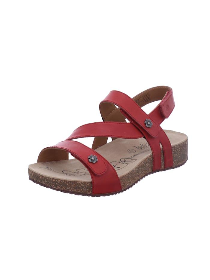 Josef Seibel Damen-Sandale Tonga 53, rot, rot