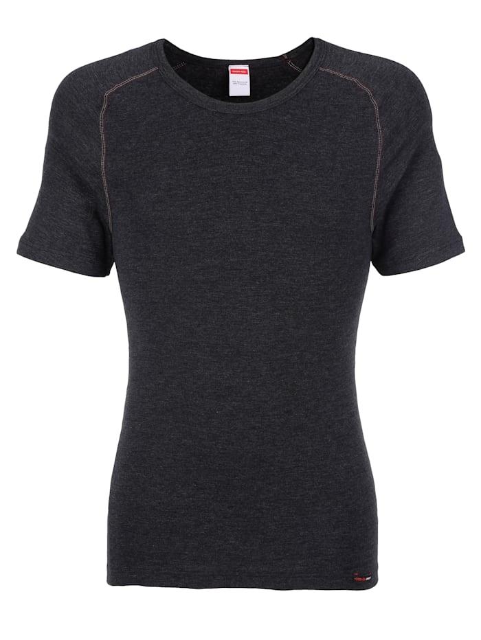 Con-ta T-skjorte med thermo-funksjon, koksgrå melert